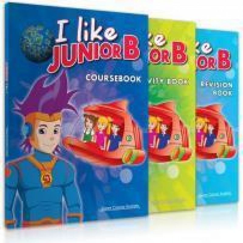 I LIKE JUNIOR B PACK & REVISION (+i-book)