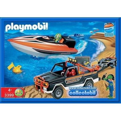 PLAYMOBIL 3399 ΤΖΙΠ ΜΕ ΤΑΧΥΠΛΟΟ-Deleted