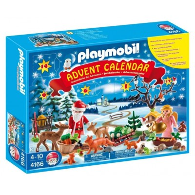 PLAYMOBIL 4166 Advent Calendar - Forest Winter Wonderland