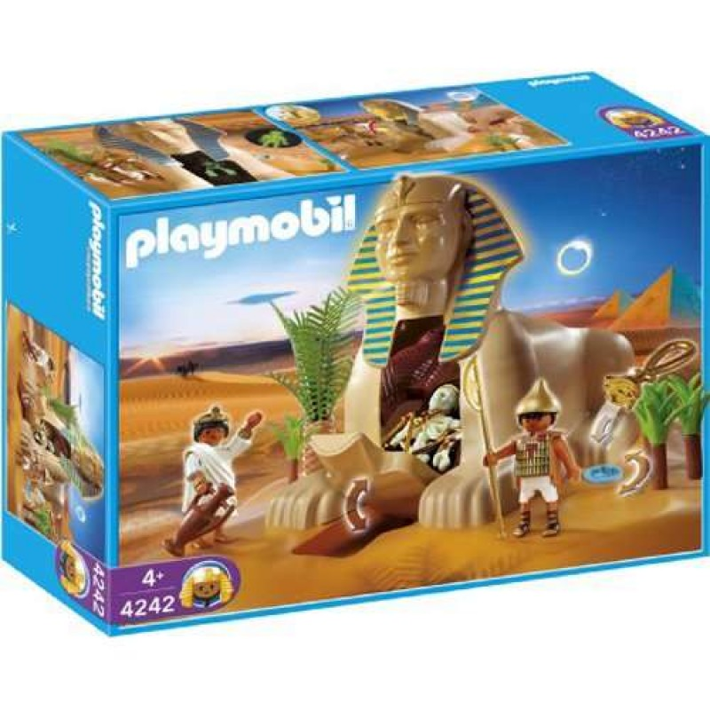 PLAYMOBIL 4242 Romans Egyptians Set Sphinx with Mummy-Deleted