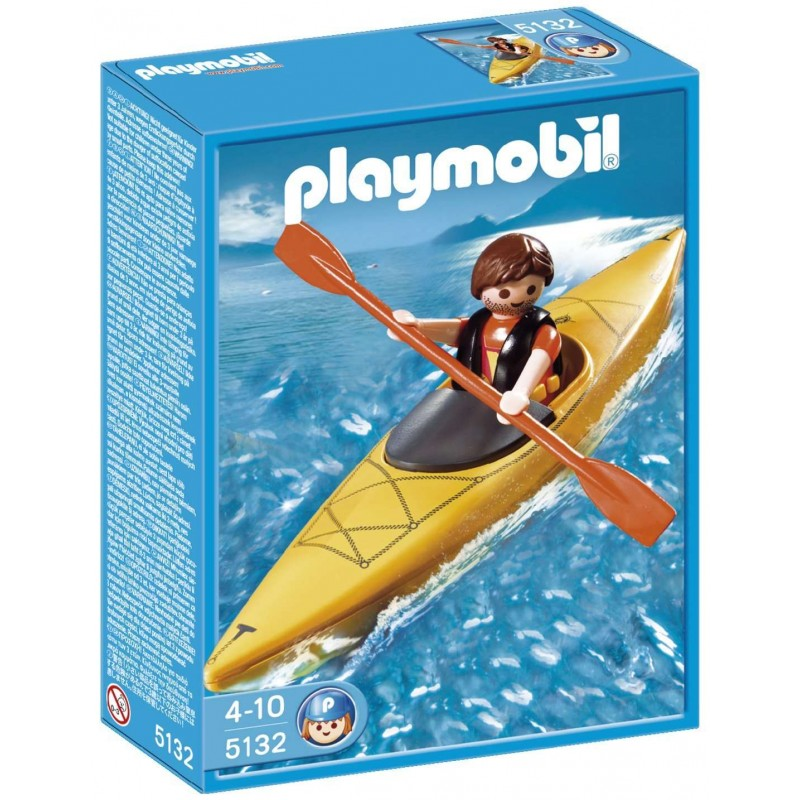 PLAYMOBIL 5132 Kayaker-Deleted
