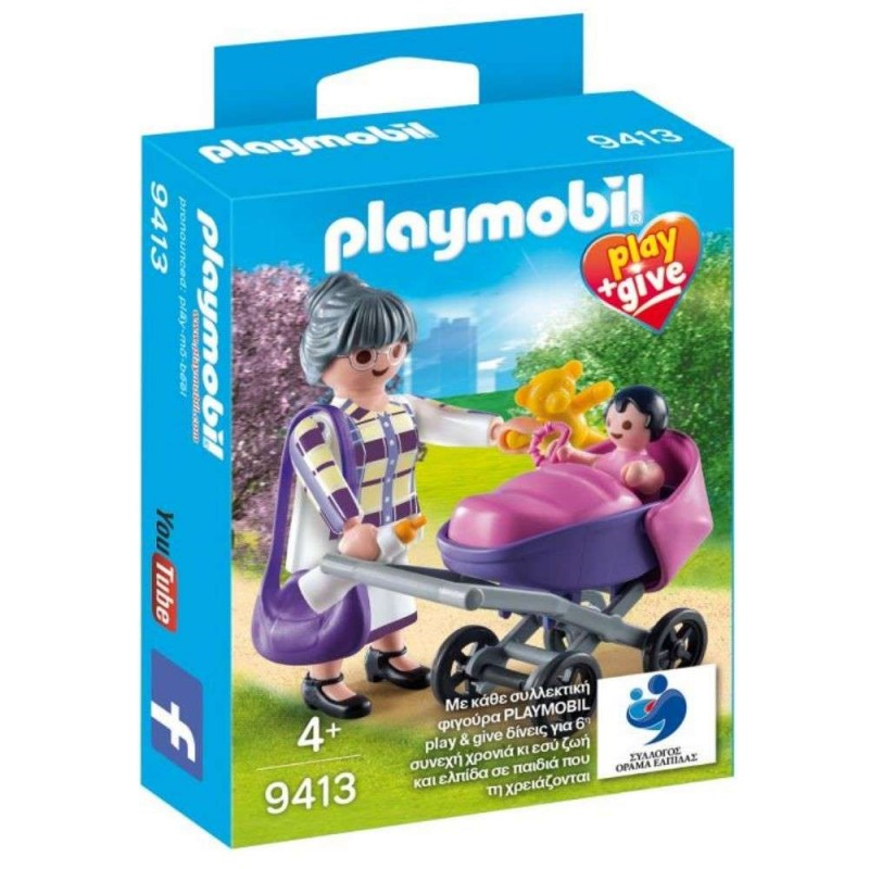 PLAYMOBIL 9413 PLAY & GIVE ΓΙΑΓΙΑ ΜΕ ΜΩΡΑΚΙ