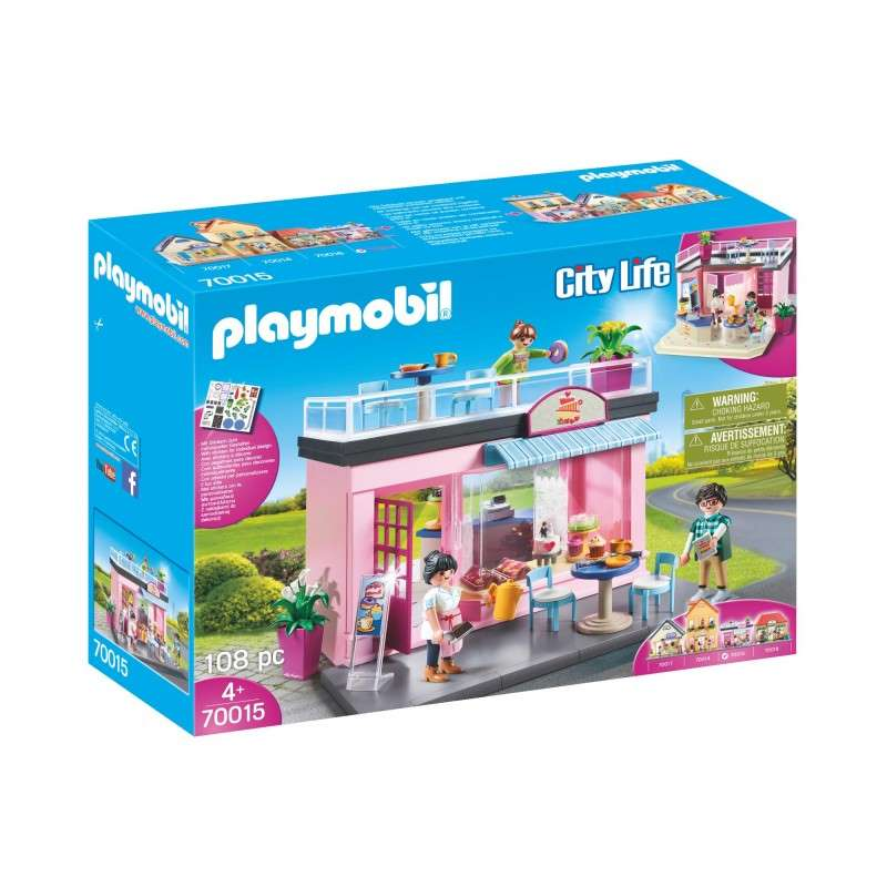 PLAYMOBIL 70015 MY PRETTY PLAY-CAFÉ