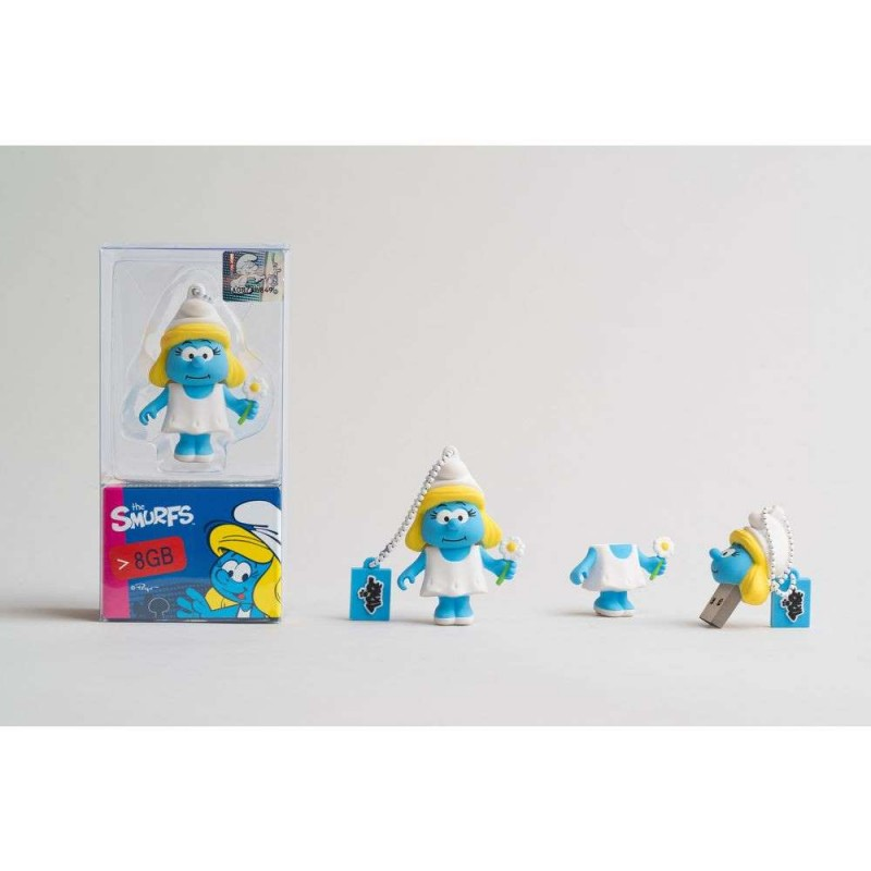 TRIBE FLASH DRIVE USB 3D SMURFETTE 8GB