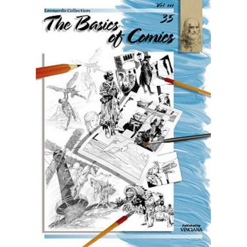 THE BASIS OF COMICS Vol.III - LEONARDO COLLECTION (No 35)
