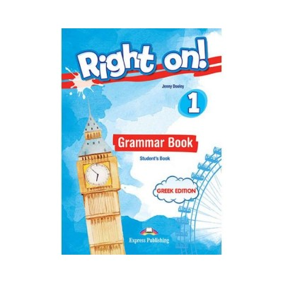 RIGHT ON 1 GRAMMAR STUDETNTS BOOK